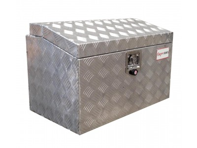 Aluminium kist, disselbak