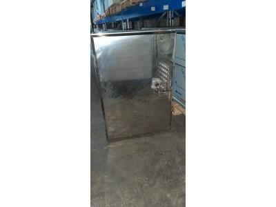 RVS 1,5mm spiegel onderbouwkist 450X650X850 met planken