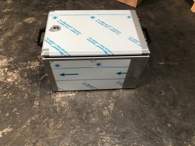 Kist 600x400x400 lxbxh RVS 1,5mm