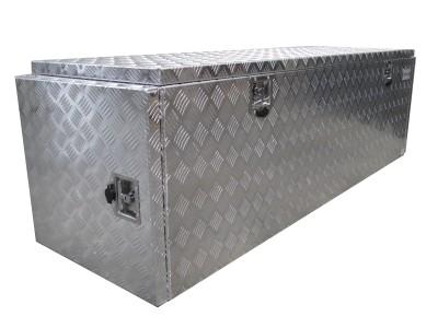Aluminium kist met zijdeuren